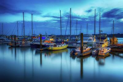 Photograph - Boats In The Bay by Kenny Thomas