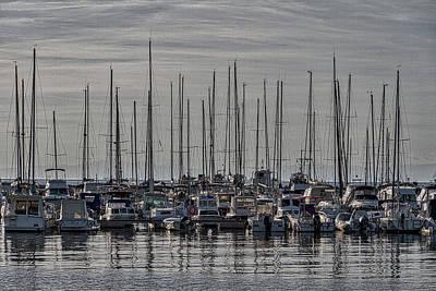 Photograph - Boats In The Izola Marina - Slovenia by Stuart Litoff