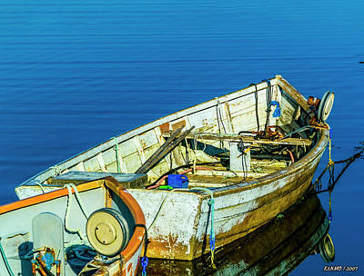 Photograph - Boats In The Water by Ken Morris