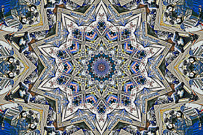Digital Art - Boats Kaleidoscope by Bill Barber