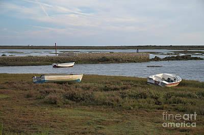 Southern Europe Photograph - Boats Near Passeio Ribeirinho by Angelo DeVal