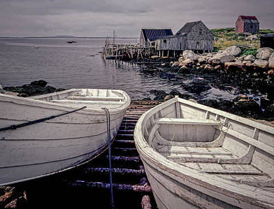 Photograph - Boats Near Peggys Cove by Gary Shepard