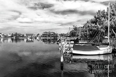 Boats Of Long Beach Island Art Print