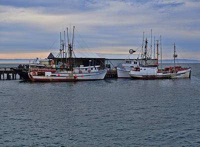 Photograph - Boats Off The Coast Of Washington by Dan Sproul