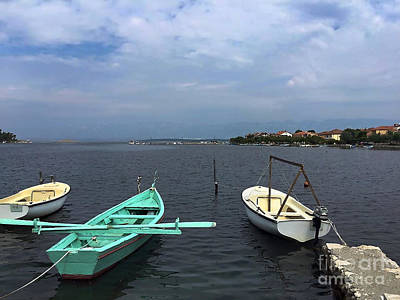 Photograph - Boats On A River by Doc Braham