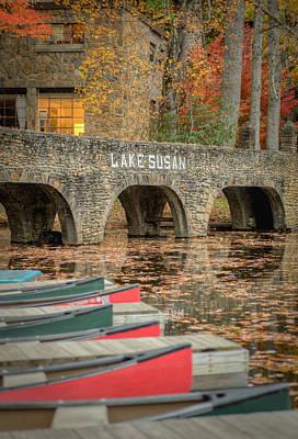 Photograph - Boats On Lake Susan by Joye Ardyn Durham