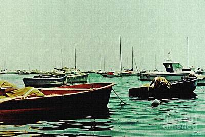 Photograph - Boats On Mar Menor 2 by Sarah Loft