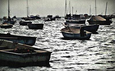 Photograph - Boats On Mar Menor by Sarah Loft