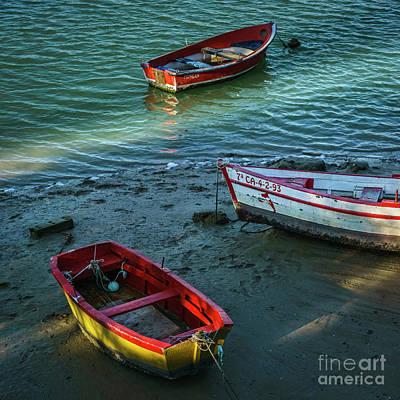 Photograph - Boats On San Pedro River Puerto Real Spain by Pablo Avanzini