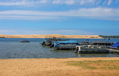 Photograph - Boats On Silver Lake Michigan by Dan Sproul