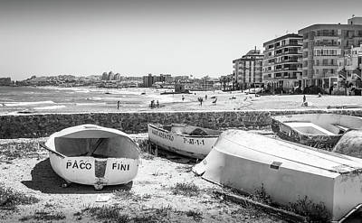 Photograph - Boats On The Beach by Gary Gillette