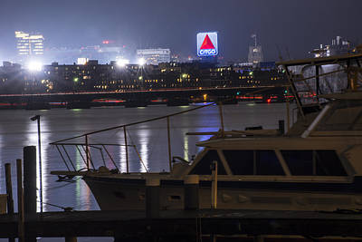 Photograph - Boats On The Charles River Citgo Sign Boston Massachusetts by Toby McGuire