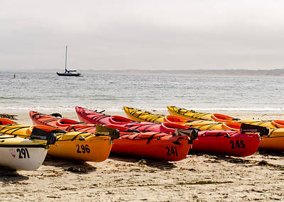Photograph - Boats On The Shore by Tom Potter