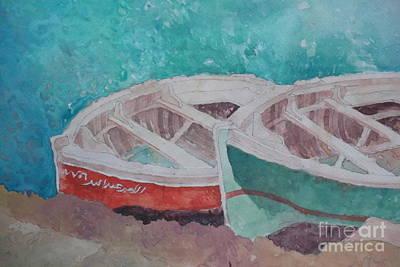 Boats Original by Rania AL-Madhoun