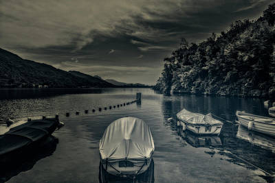 Photograph - Boats by Roberto Pagani