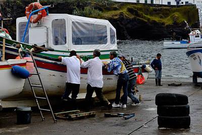 Photograph - Boats,fishing-05 by Joseph Amaral