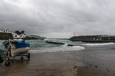 Photograph - Boats,fishing Azores-001 by Joseph Amaral