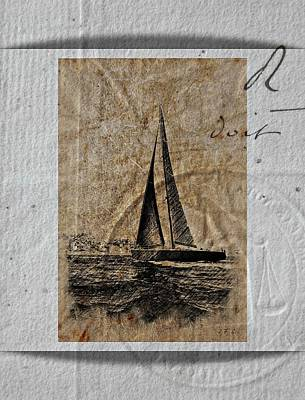 Photograph - Boat,vintage  by Jean Francois Gil
