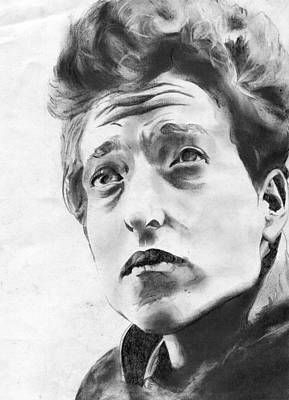 Dylan Drawing - Bob by Amanda Faries