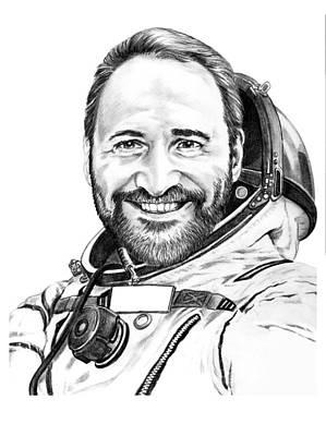 Science Fiction Drawing - Bob Bello by Murphy Elliott