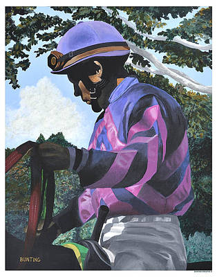 Keeneland Painting - Immersion by Robert Bunting