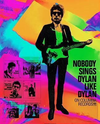 Photograph - Bob Dylan by Allen Beilschmidt
