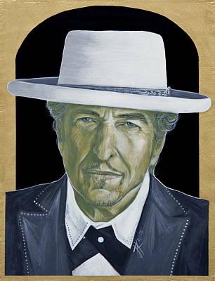 Painting - Bob Dylan by Jovana Kolic