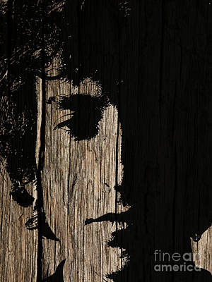 Bob Dylan Digital Art - Bob Dylan Stained Wood Art by Kjc