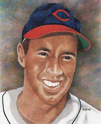 Cleveland Indians Drawing - Bob Feller by Rob Payne