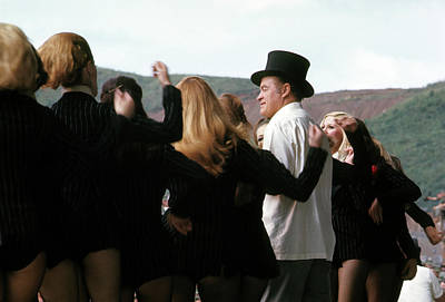 Photograph - Bob Hope And His Girl Dancers by Robert Holden