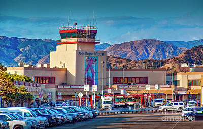 Photograph - Bob Hope Burbank Airport by David Zanzinger