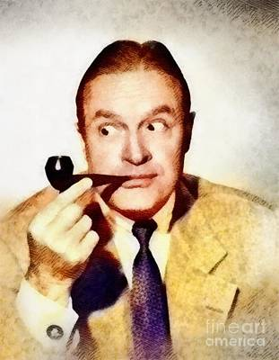 Hope Painting - Bob Hope, Hollywood Legend By John Springfield by John Springfield