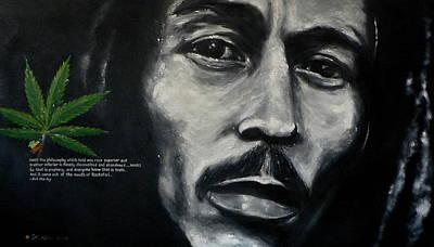 Justice Painting - Bob Marley - Peace by Eddie Lim