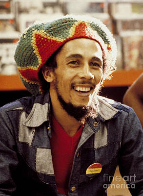 Singer Photograph - Bob Marley 1979 by Chris Walter