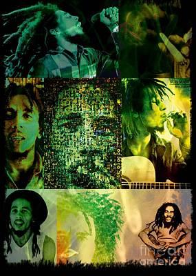 Bob Marley Art Print by Ankeeta Bansal