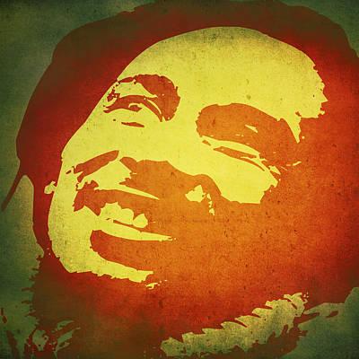 Bob Marley Art Print by Brandi Fitzgerald
