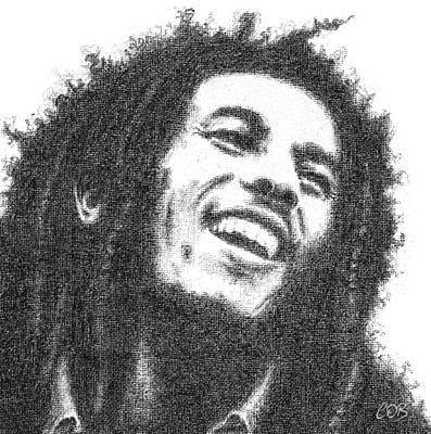 Bob Marley Art Print by Conor OBrien