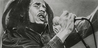 Bob Marley Art Print by Don Medina