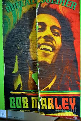 Photograph - Bob Marley Door At Pickles Usvi by Tamara Michael