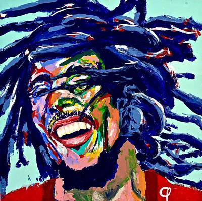Bobmarley Painting - Bob Marley I by Mark Phi