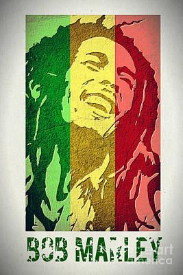Nighttime Street Photography - Bob Marley II by Binka Kirova