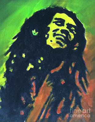 Painting - Bob Marley by Kristen Diefenbach