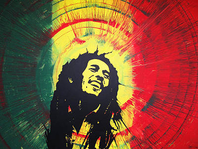 Bob Marley Art Print by Lance Bifoss
