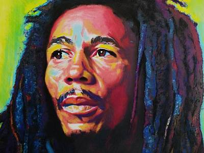 Pastel - Bob Marley by Mandy Thomas