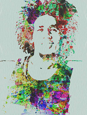 Jamaica Mixed Media - Bob Marley Music Legend by Naxart Studio