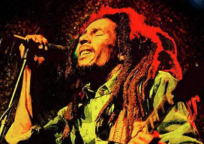 Bob Marley Art Print by Semih Yurdabak