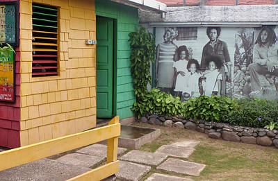 Photograph - Bob Marley's Home Kingston by Dianne Levy