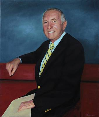 Painting - Bob Sheck's Father by Richard Barone