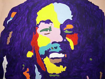 Painting - Bob by Stormm Bradshaw