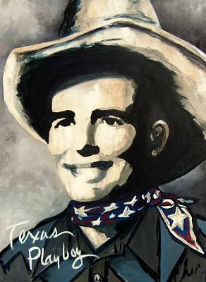 Painting - Bob Wills by Cheri Stripling